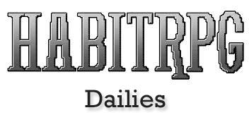 HabitRPG – Dailies(ugh!)