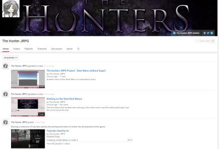 Check out The Hunters JRPG Youtube Channel!